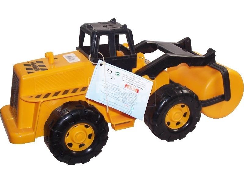 Műanyag óriás traktor - 69 cm