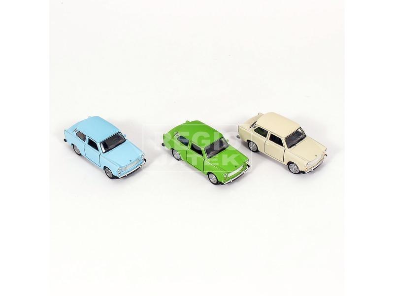kép nagyítása Trabant fém kisautó - 12 cm, többféle