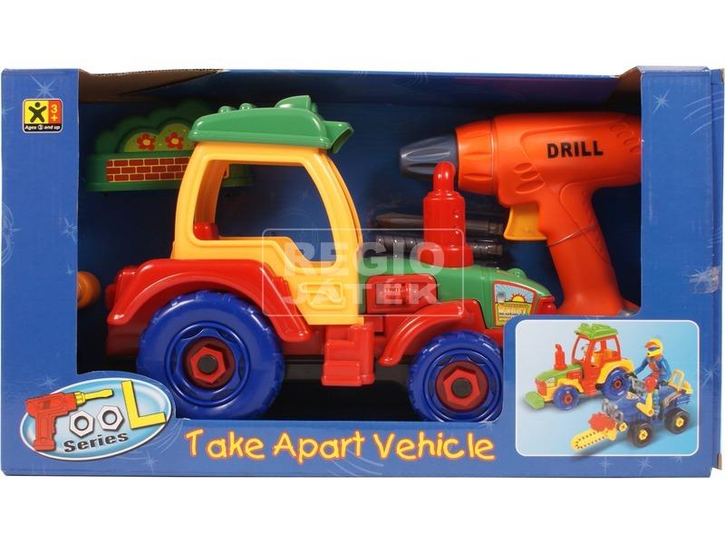 Szerelhető traktor - 30 cm