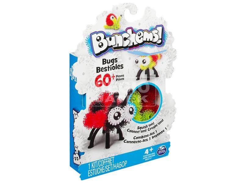 kép nagyítása Bunchems bogáncs építőjáték 60 darabos készlet