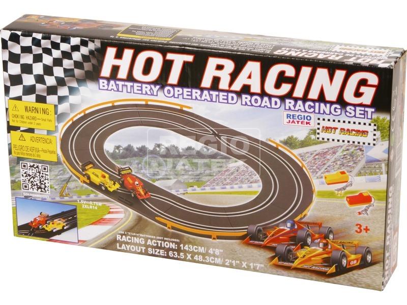 Hot Racing elemes autópálya - 143 cm