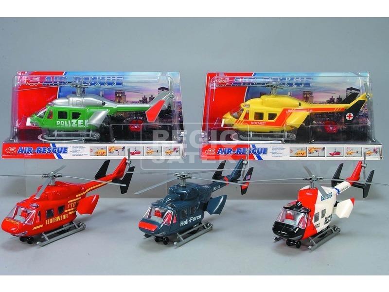Air Rescue műanyag helikopter - többféle