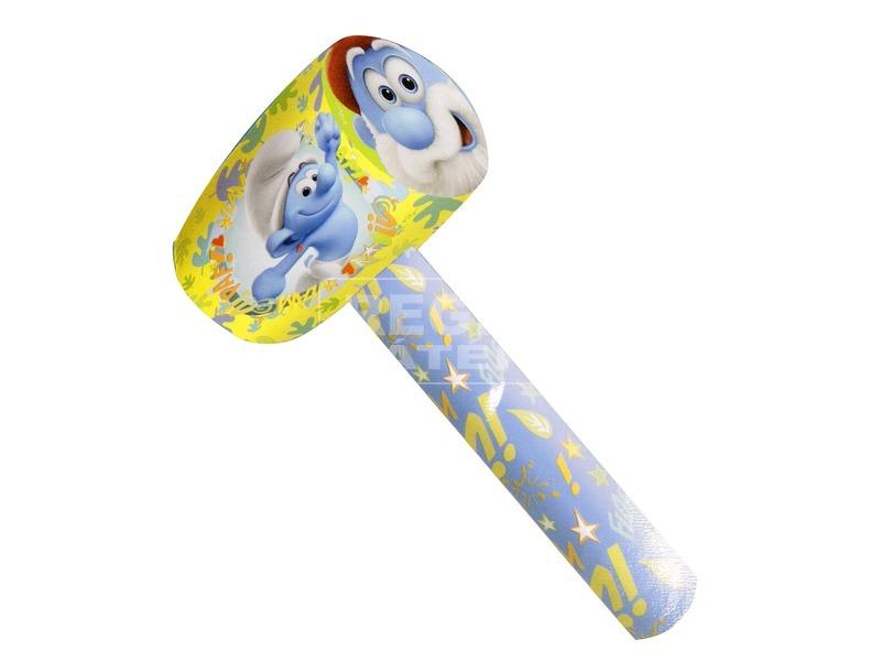 Hupikék Törpikék felfújható kalapács - 71 cm