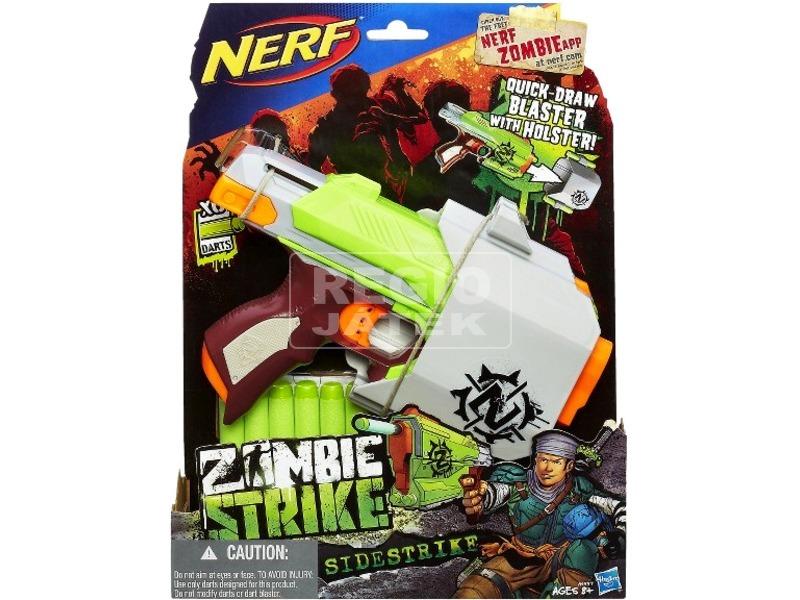 NERF Zombie Strike Sidestrike szivacslövő fegyver