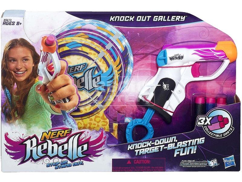 NERF Rebelle Knock Out Gallery szivacslövő pisztoly