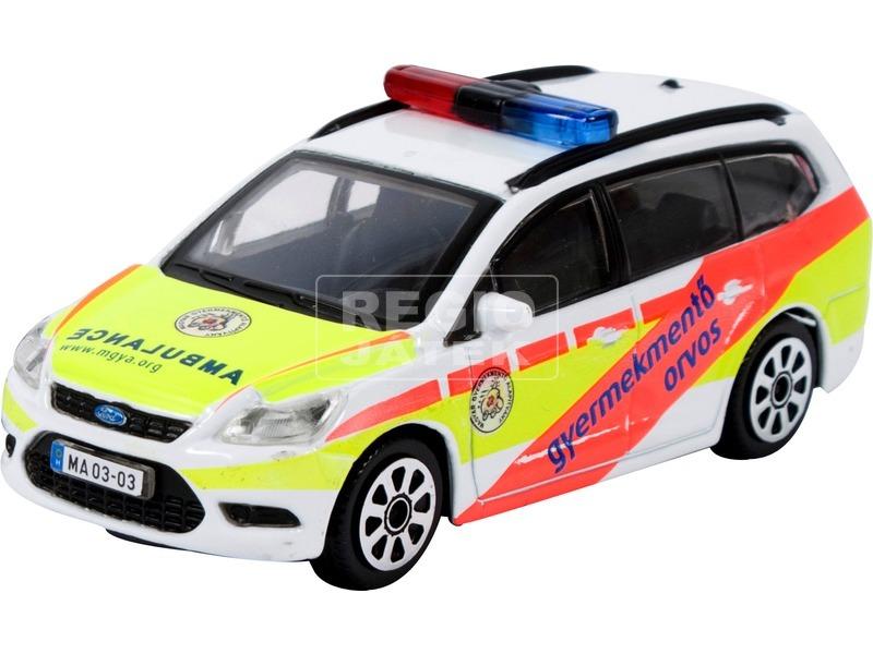 Bburago gyermek mentőorvosi kocsi 1:43
