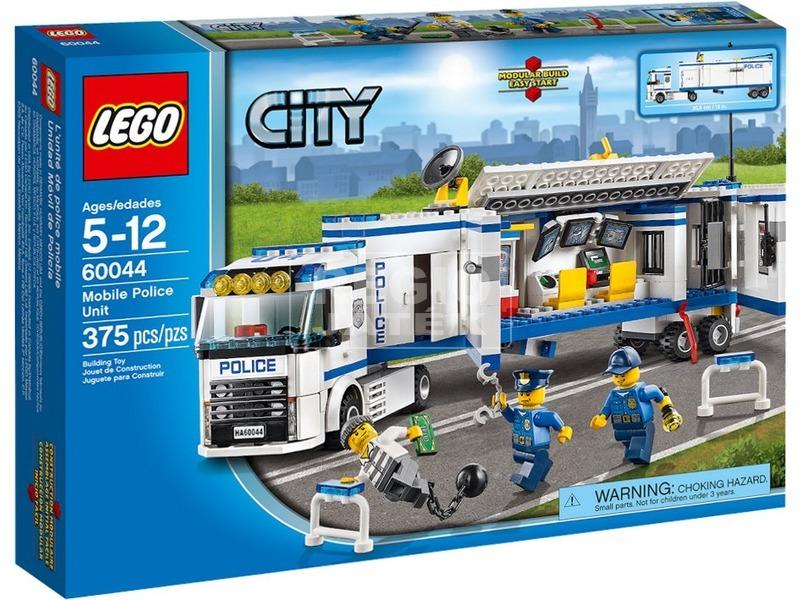 LEGO City Mobil rendőri egység 60044