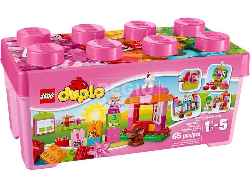 LEGO DUPLO Minden egyben rózsaszín doboz 10571