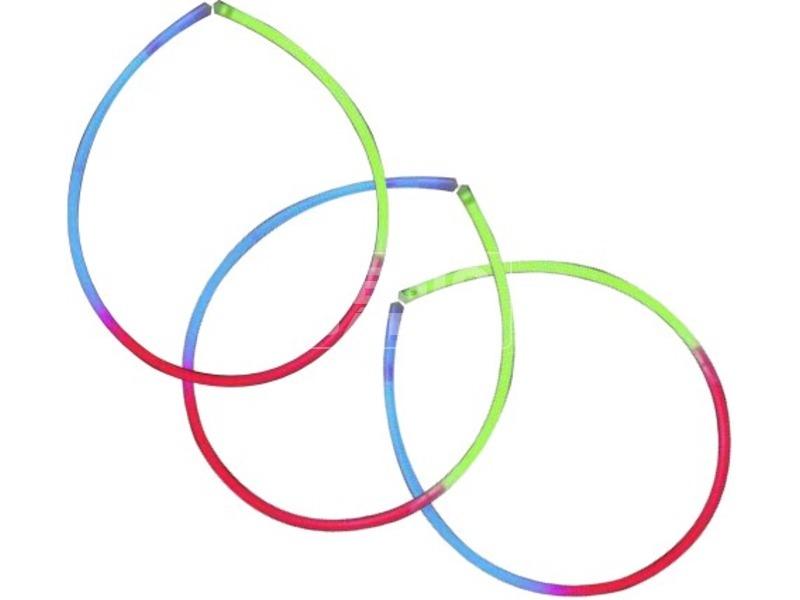 Világító nyaklánc háromszínű
