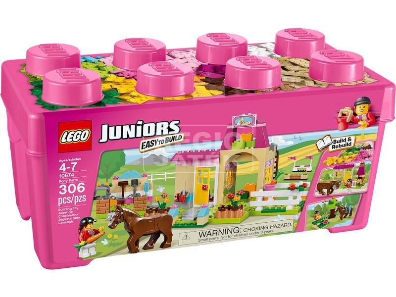 LEGO Juniors Lovas farm 10674