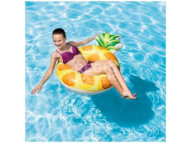 kép nagyítása Intex 56266 Ananász úszógumi - 117 x 86 cm