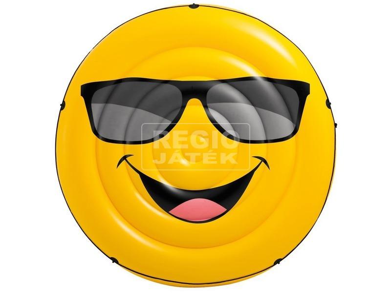 kép nagyítása Intex 57254 Smiley sziget matrac - 173 x 27 cm