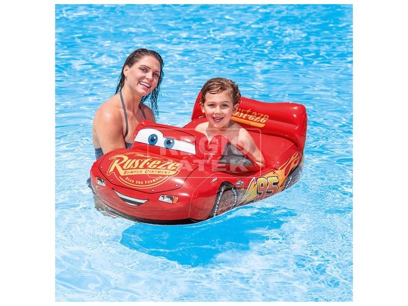 kép nagyítása Intex 58392 Villám McQueen csónak - 109 x 71 cm