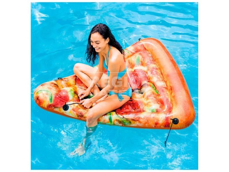 kép nagyítása Intex 58752 Pizza szelet matrac - 175 x 145 cm