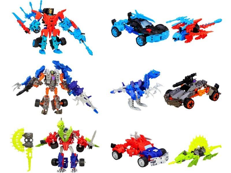 Transformers 4: Construct Bots harcos összerakható robotok - többféle