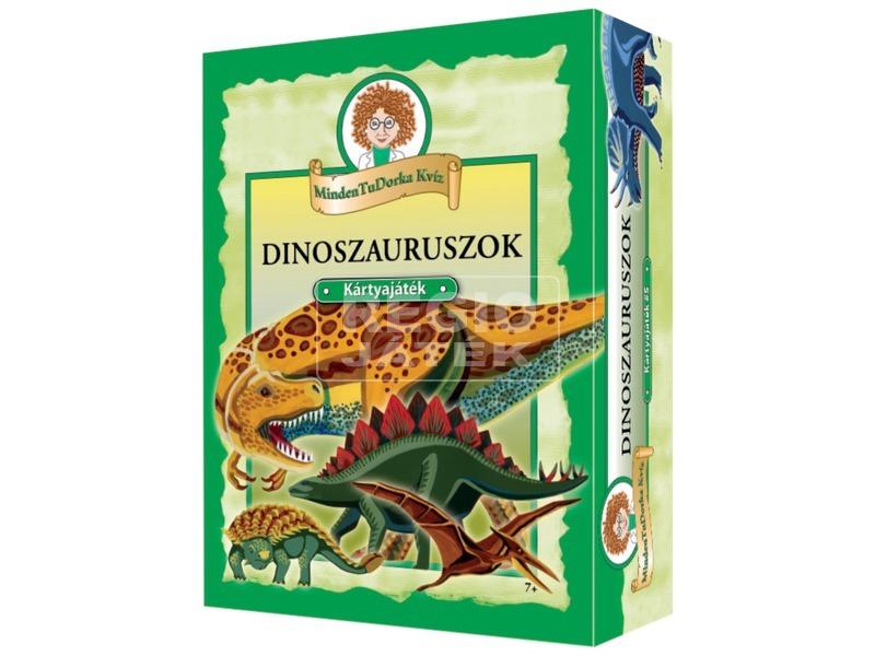 MindenTuDorka kvíz dinoszauruszok kártyajáték
