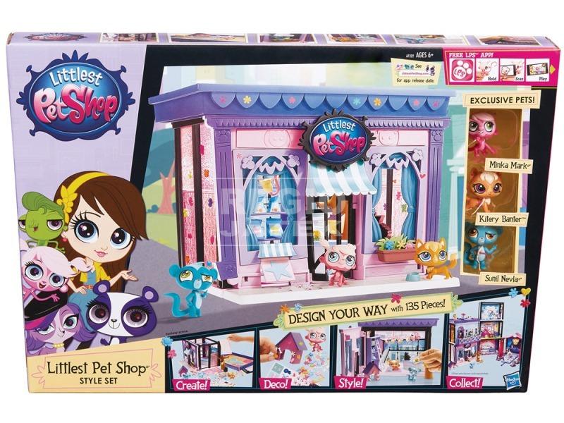 Littlest Pet Shop: stílusos játékkészlet