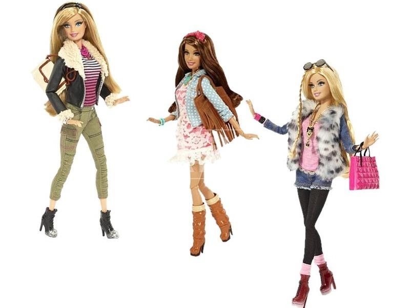 Barbie: Barátnők mesés luxus divatbaba - többféle
