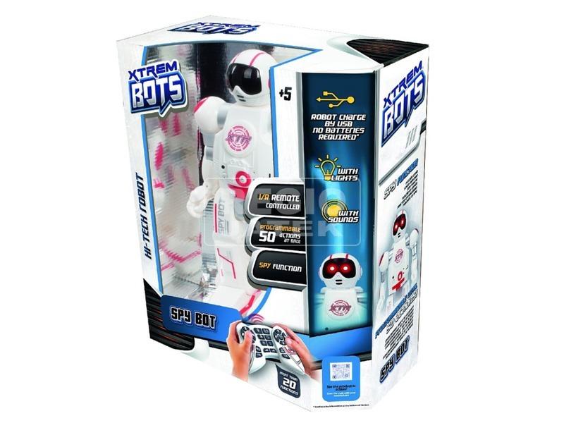 Xtrem Bots Spy Bot kémrobot - 32 cm