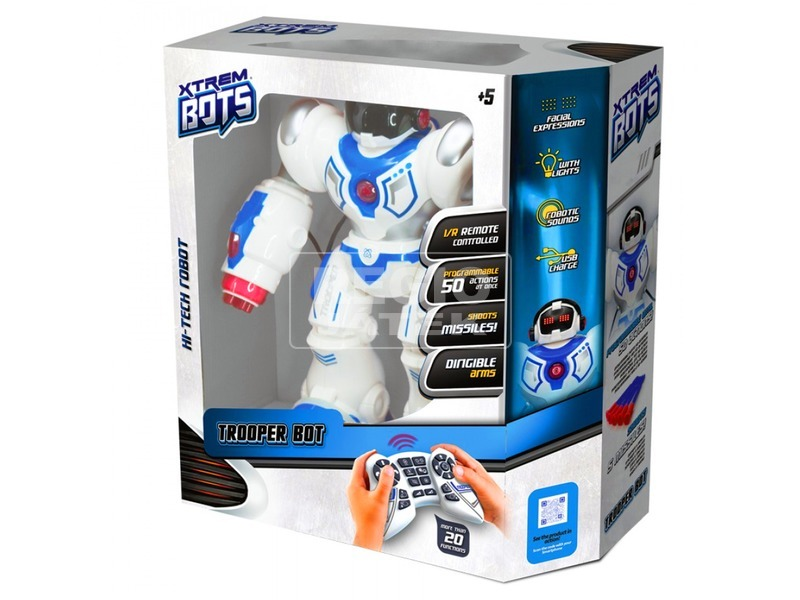 Xtrem Bots Trooper Bot harcirobot - 34 cm