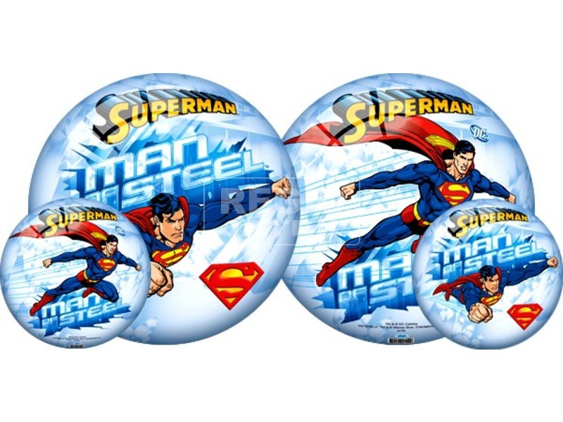 Superman labda - 23 cm, többféle