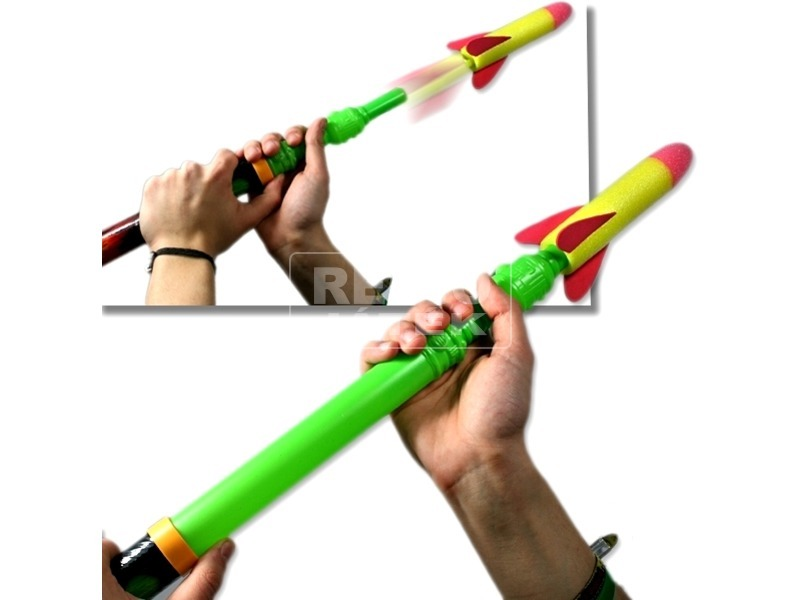 Rakéta kilövő szivacsos rakétával