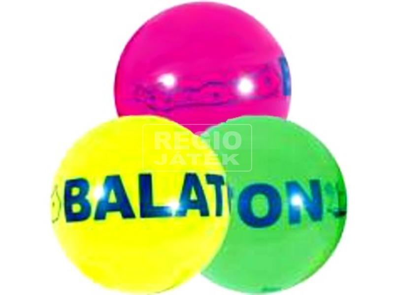 Balaton neon gumilabda - 11 cm, többféle