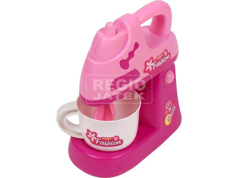 kép nagyítása Elemes konyhai mixer - rózsaszín