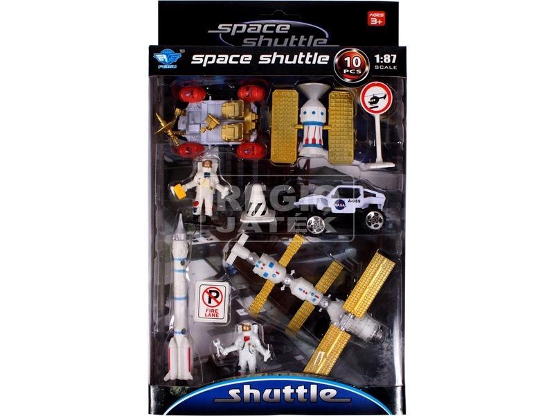 Fém űrhajós járműkészlet - többféle