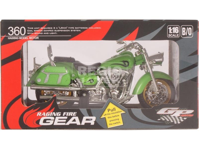 Fém motor modell 1:18