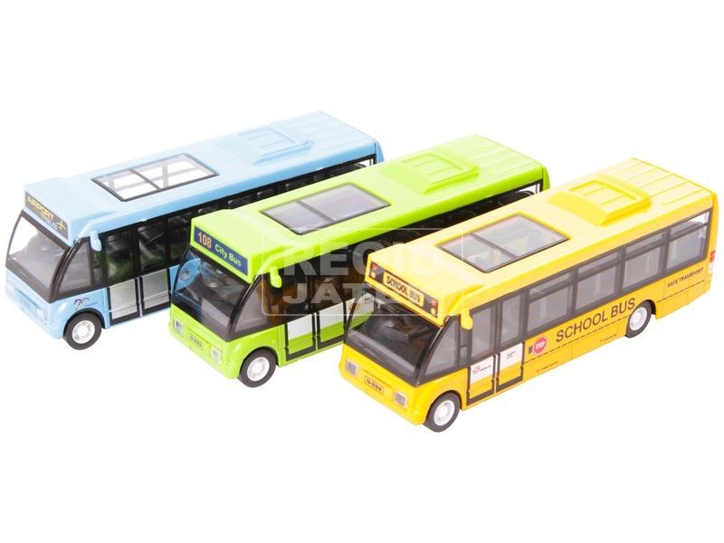 Fém városi busz - 1:146, többféle