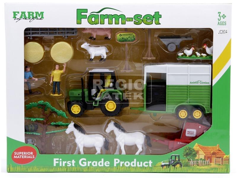 Műanyag farm készlet