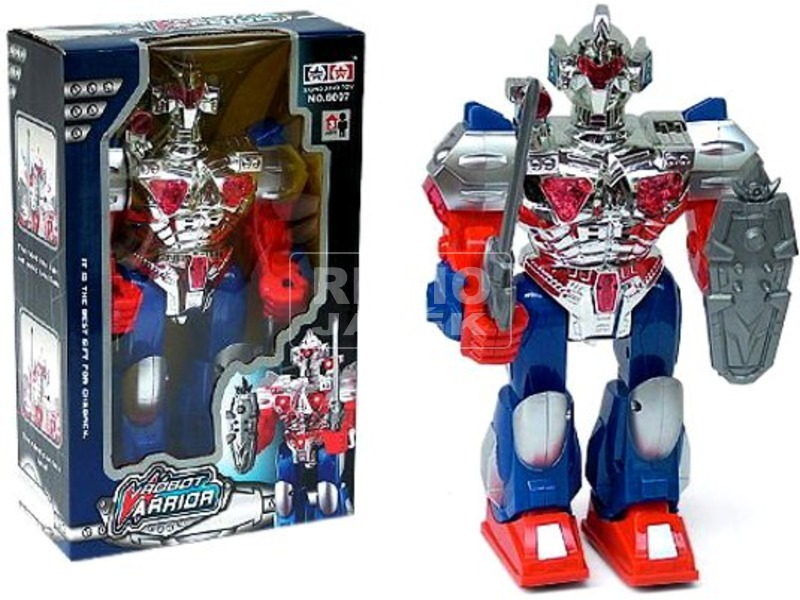 Robot Warrior elemes robotfigura - 31 cm