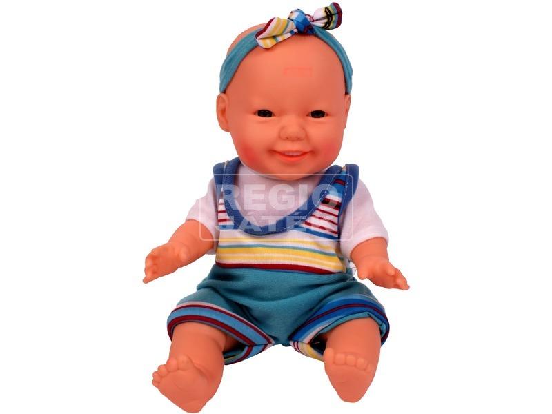 Játékbaba ruhában - 22 cm, többféle