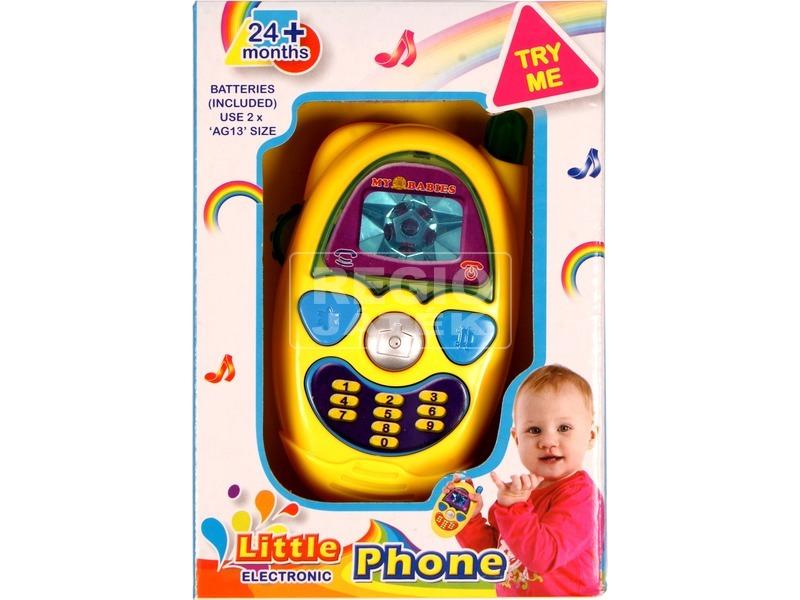 Bébi játéktelefon - többféle