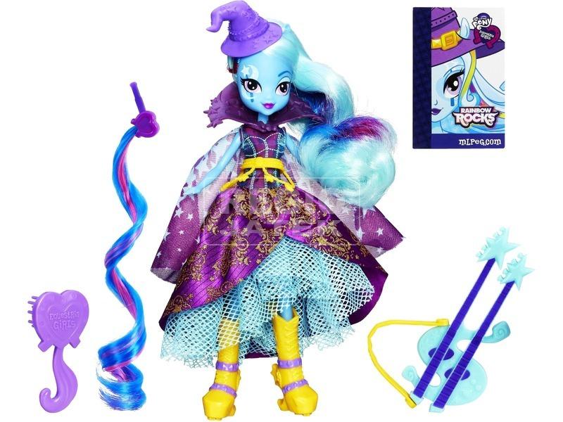 Én kicsi pónim: Equestria Girls Rainbow Rocks baba - Trixie Lulamoon