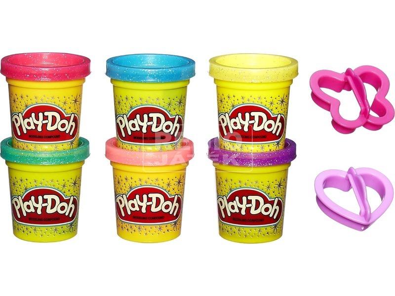 kép nagyítása Play-Doh csillámos gyurmakészlet