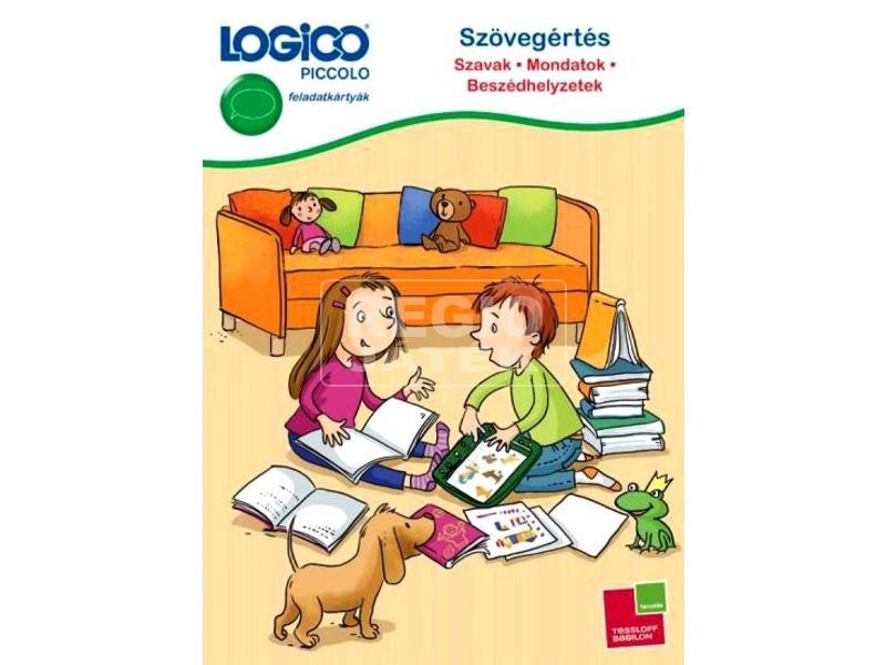 Logico Piccolo Szövegértés Szavak-Mondatok-Beszéd