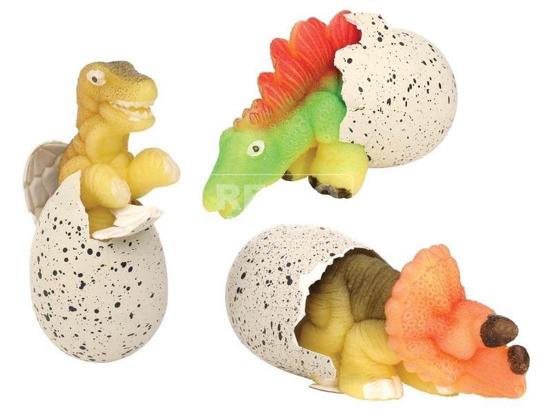 kép nagyítása Növekvő dínó tojásban - 6 cm