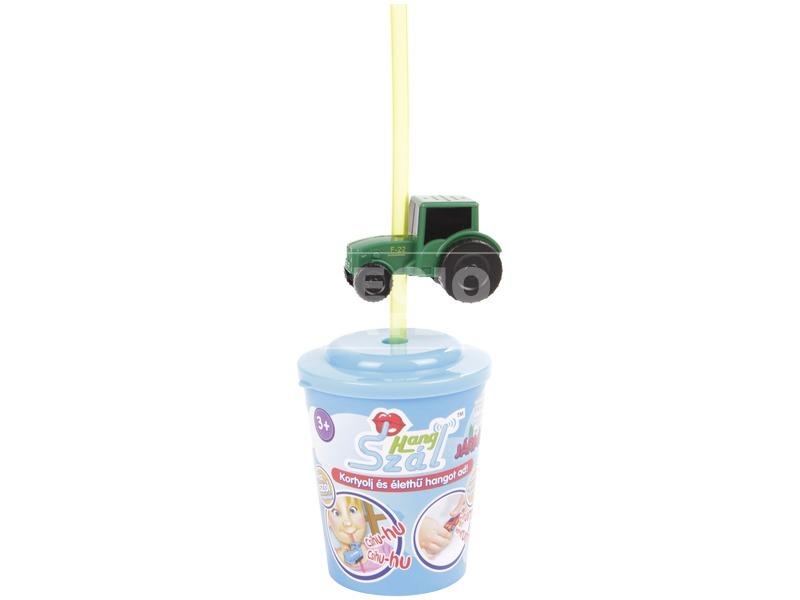kép nagyítása Hangszál pohárral - járművek