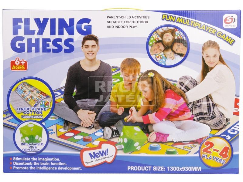 Társasjáték játszószőnyeg - ki nevet a végén 130x93 cm