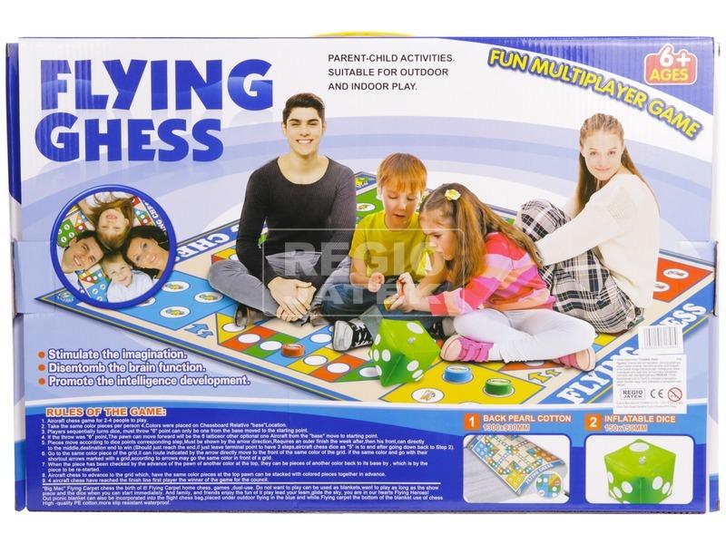 kép nagyítása Társasjáték játszószőnyeg - ki nevet a végén 130x93 cm