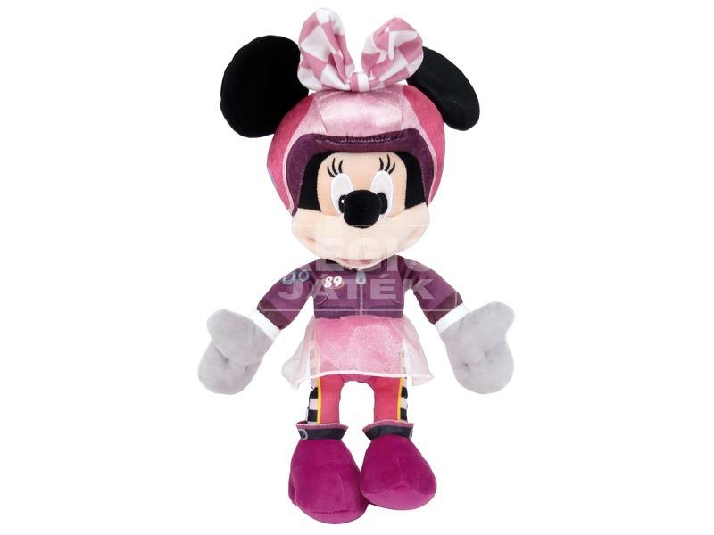 Mickey és az autóversenyzők - Minnie 25 cm