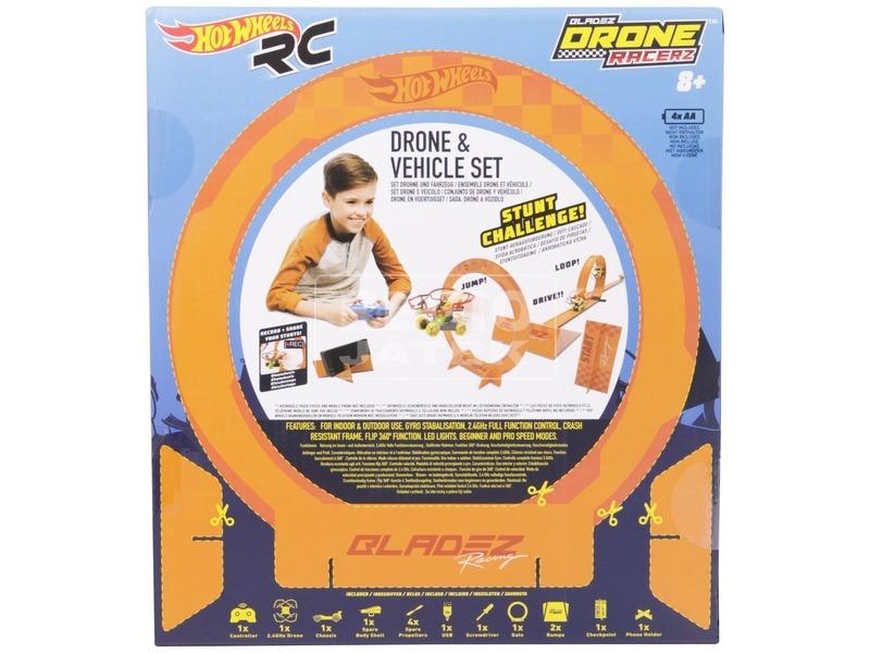 kép nagyítása Hot Wheels Bladez Racerz drón és autó készlet
