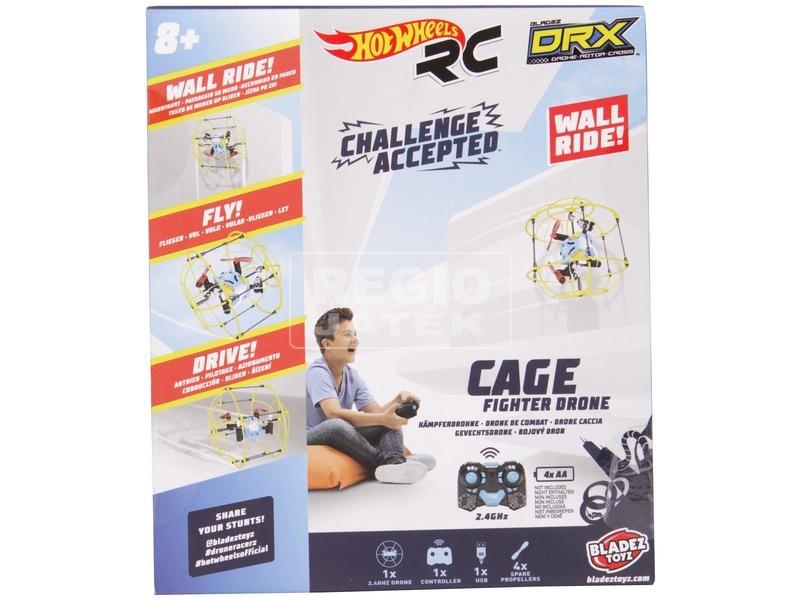 kép nagyítása Hot Wheels DRX Exo Sphere Cage Drón