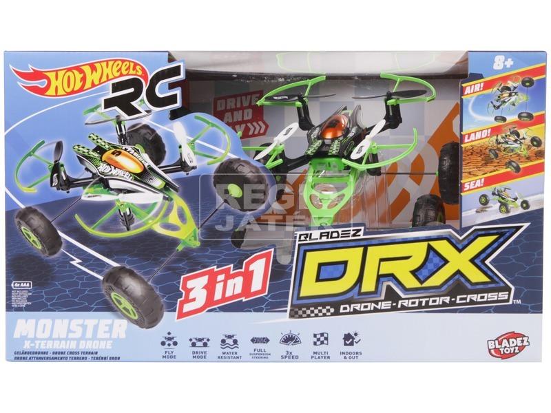 Hot Wheels DRX Monster X-Terrain Drón