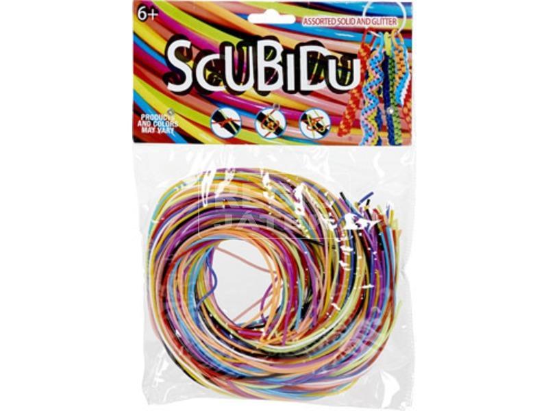 Scoubidou fonható műanyag szál - 96 darabos