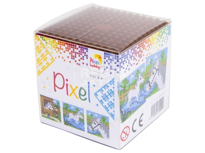 Pixel kocka készlet - ló