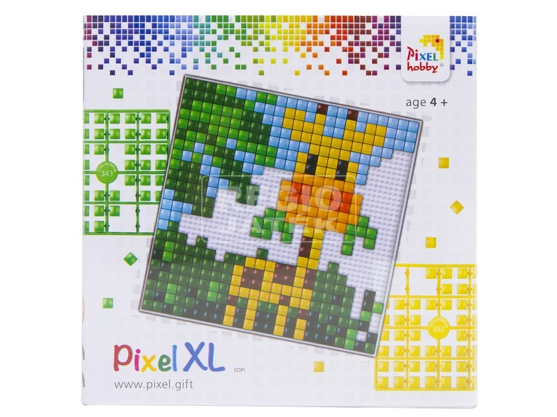 Pixel XL készlet - zsiráf, nagy