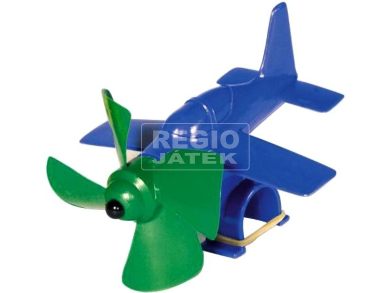 Propelleres repülőgép kerékpár dísz